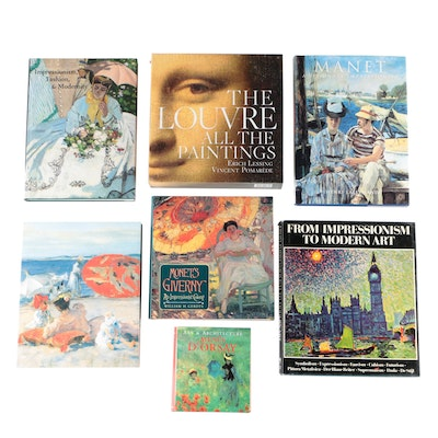 "Art Books Featuring ""The Louvre: All the Paintings"" by Anja Grebe, 2011"
