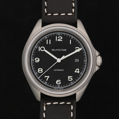 Glycine Combat 7 Stainless Steel Automatic Wristwatch
