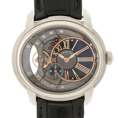 Audemars Piguet Millenary 4101 Stainless Steel Automatic Wristwatch
