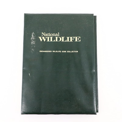 National Wildlife Endangered Wildlife .999 Silver Medal Collection