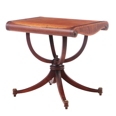 Classical Style Mahogany Side Table, Early to Mid 20th Century