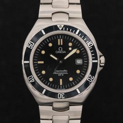 Vintage Omega Seamaster 200M Quartz Wristwatch