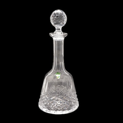 """Waterford Crystal """"Kenmare"""" Decanter, Mid/Late 20th Century"""