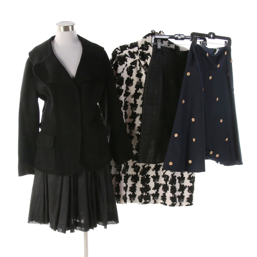 Joseph Ribkoff, Citrine, Tweeds, JS Collections and Ojay Skirts and Jackets
