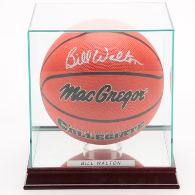 Bill Walton UCLA Bruins Signed MacGregor Collegiate Basketball