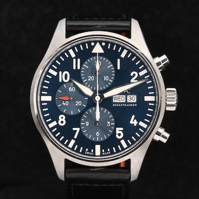 IWC Pilot Le Petit Prince Edition Chronograph Wristwatch