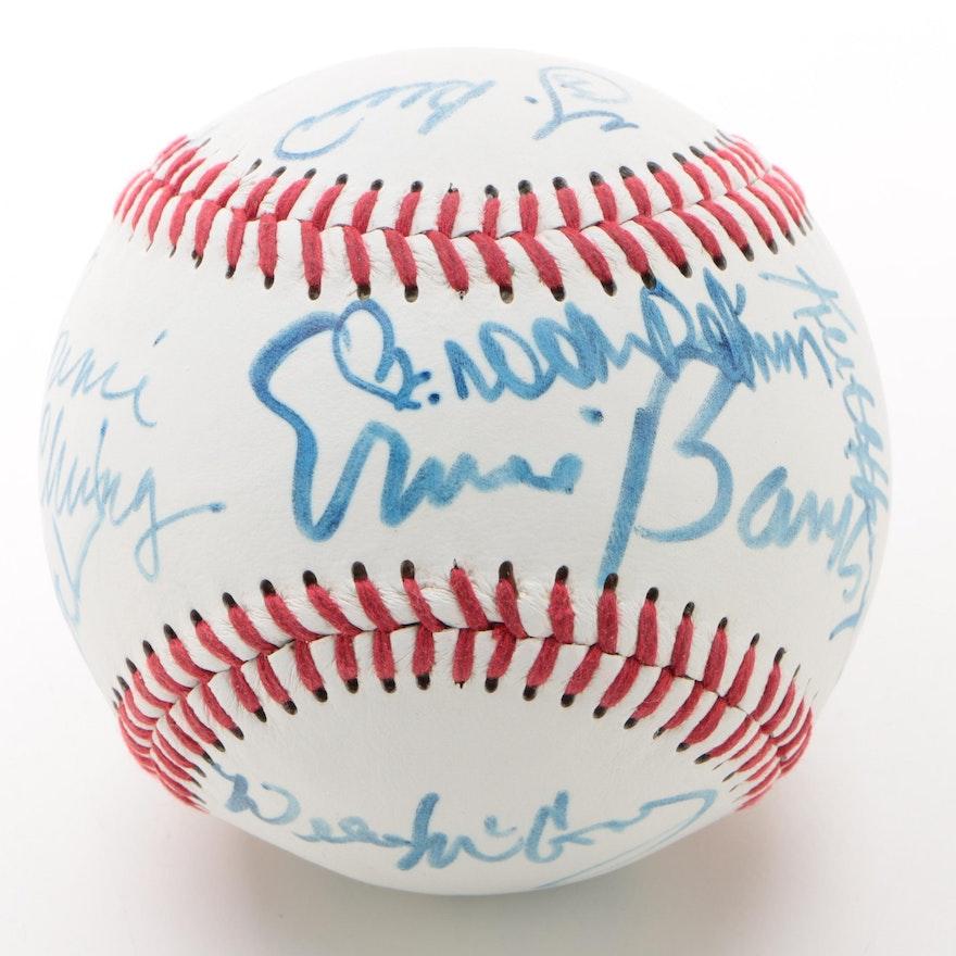 Baseball Players and Celebrity Signed Baseball