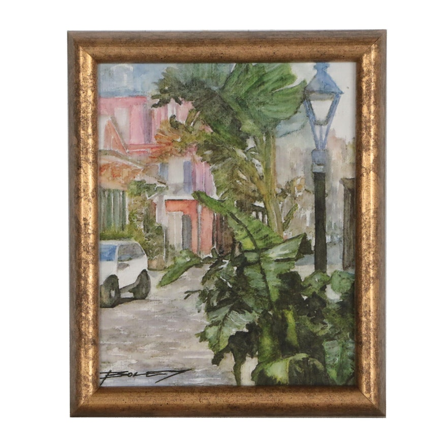 Streetscape Giclée, Late 20th Century