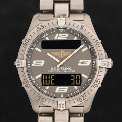 Breitling Aerospace Titanium Multi-function Wristwatch
