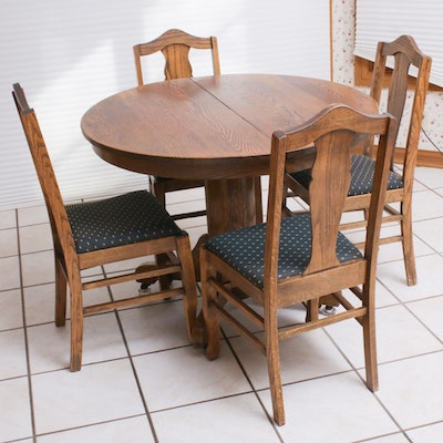 Arhaus French Provincial Style Dining Set Ebth