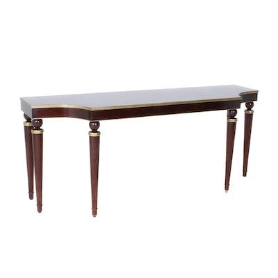Baker Mahogany Large Console Table