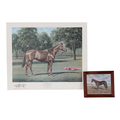 "Richard Stone Reeves Offset Lithograph ""Affirmed"" and More"