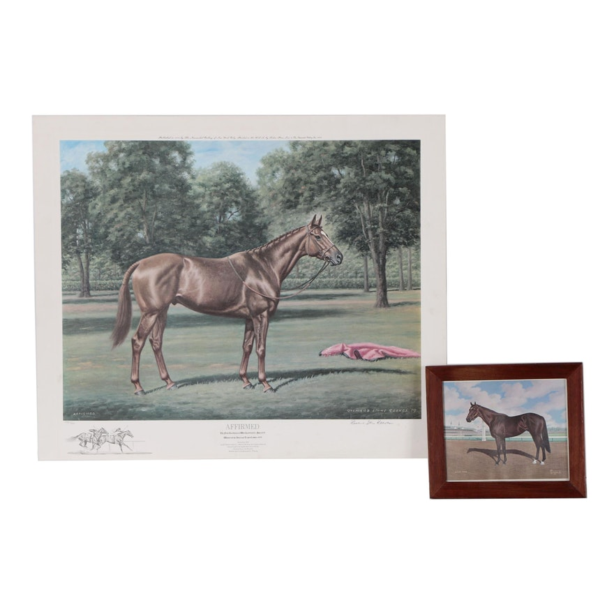 """Richard Stone Reeves Offset Lithograph """"Affirmed"""" and More"""