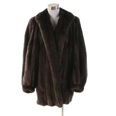 Christian Dior Fourrure Russian Sable Fur Stroller Coat