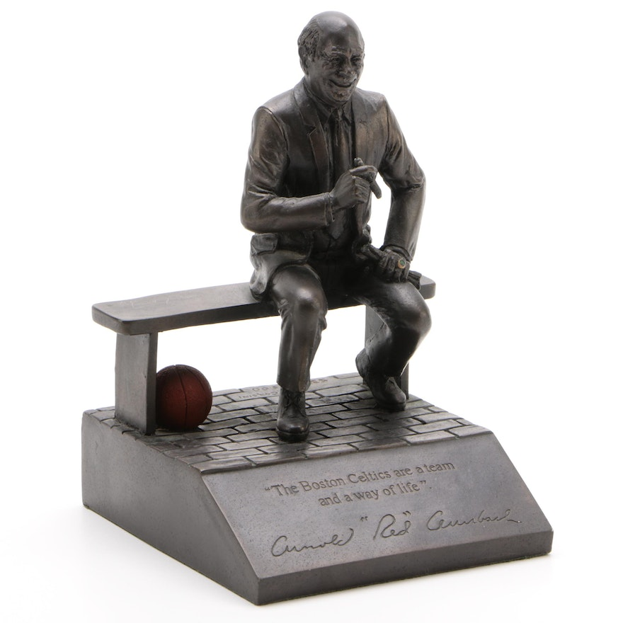 Red Auerbach Figure by Doug Corsini  532/1500
