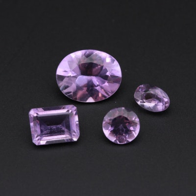 Loose 6.00 CTW Amethyst Gemstones