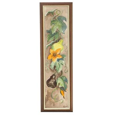 Jeanne Meisel Decorative Acrylic Painting
