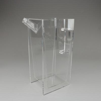 Danish Modern Style Acrylic Double layered Pitcher