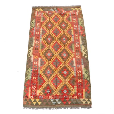 3'4 x 6'6 Handwoven Turkish Kilim Rug