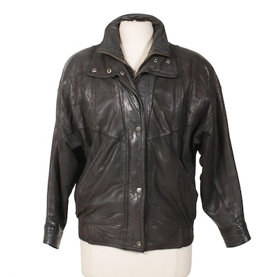 Byrnes & Baker Insulated Leather Jacket