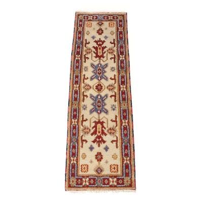 2' x 6'6 Hand-Knotted Indo-Persian Heriz Serapi Rug Runner