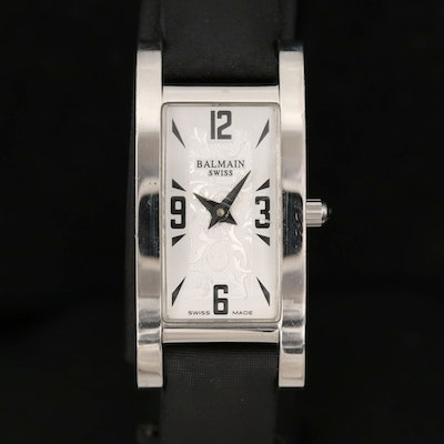 Balmain Stainless Steel Miss Balmain Quartz Wristwatch