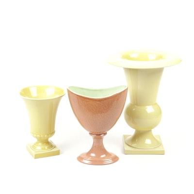 The Trenton Potteries Co. Ceramic Vases