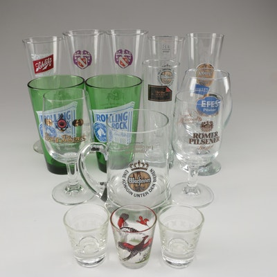 Libbey, Anchor Hocking, and More Beer Glasses, Shot Glasses, and Other Drinkware