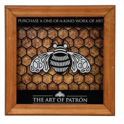 "Patrón ""The Art of Patrón"" Retail Display Sign"