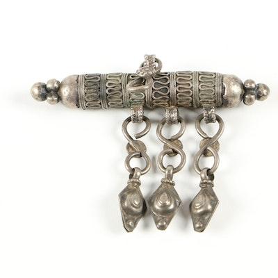 Middle Eastern Metal Pendant