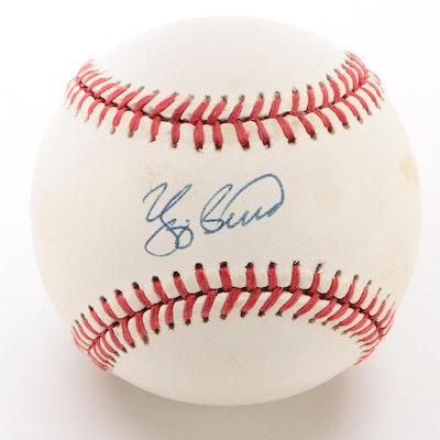 Yogi Berra Signed American League Baseball