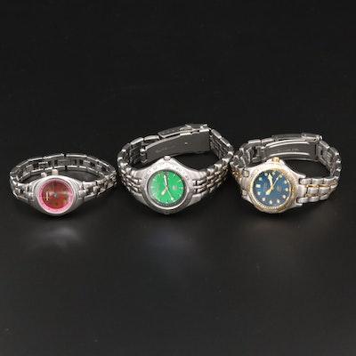 Assorted Fossil Quartz Sport Watches