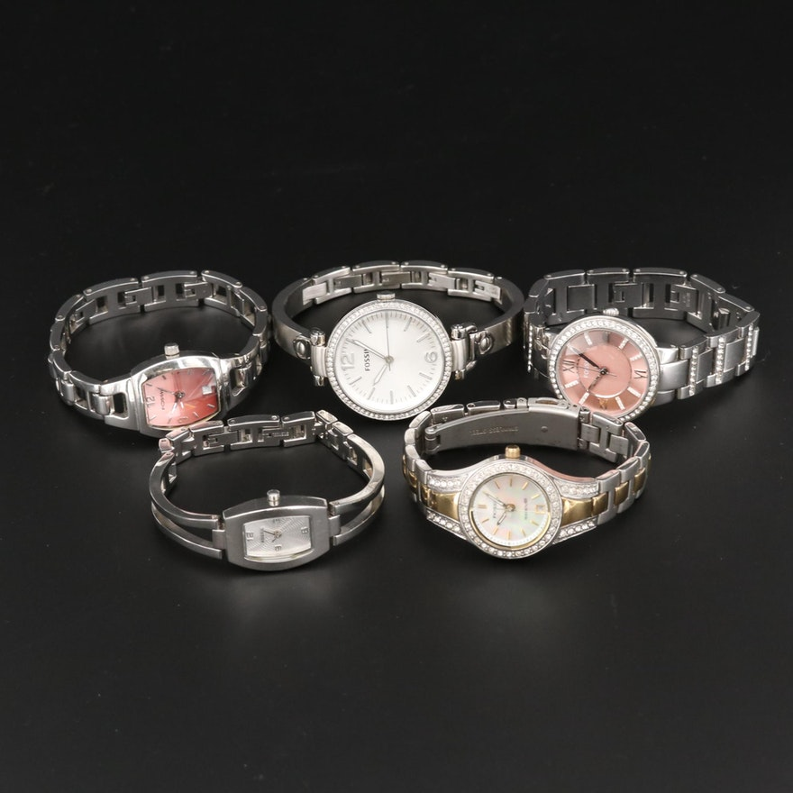Fossil Stainless Steel Quartz Fashion Watches