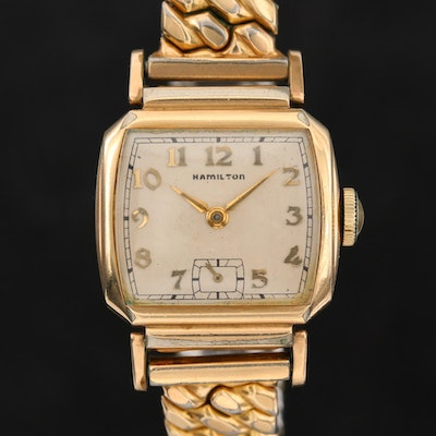 Vintage Hamilton Gold Filled Wristwatch