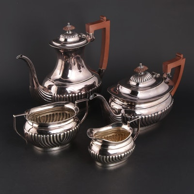 Elkington English Silver Plate Tea and Coffee Service