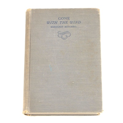 "First Edition, Second Printing ""Gone With the Wind"" by Margaret Mitchell"