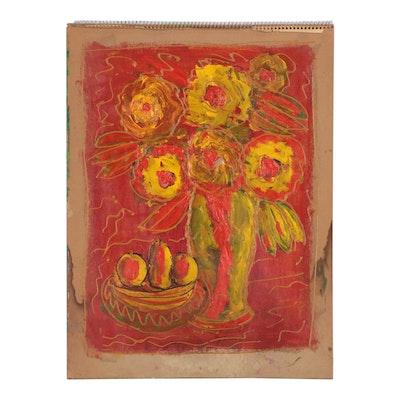 Charles Tullio Still Life Acrylic Painting