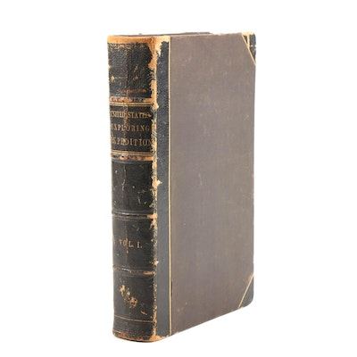 "1845 ""Narrative of the United States Exploring Expedition"" by Wilkes, Volume I"