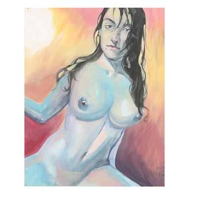 Nude Female Oil Painting