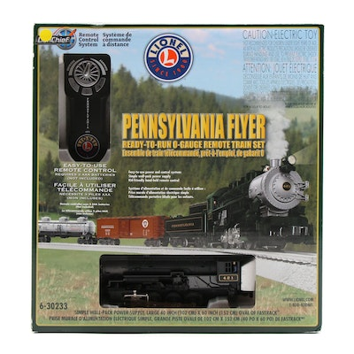 "Lionel ""Pennsylvania Flyer"" Remote Control Train Set, 2014"