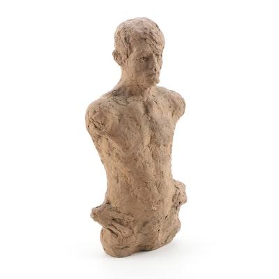 John Tuska Figural Stoneware Sculpture