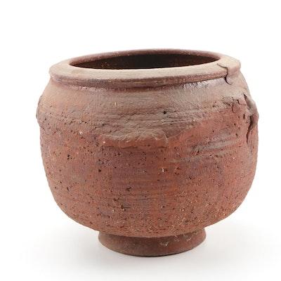 John Tuska Stoneware Footed Pot, 1964