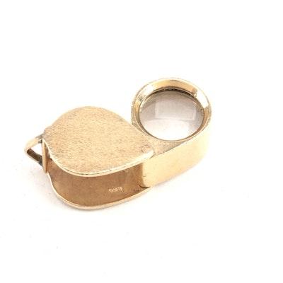 14K Yellow Gold Jeweler's Loupe