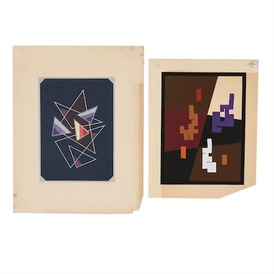 Geometric Abstract Serigraphs, 1973