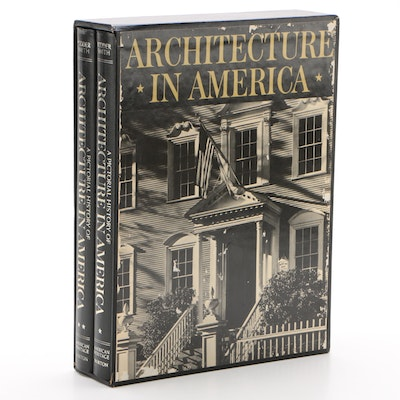 """A Pictorial History of Architecture in America"" Two Volume Box Set, 1976"