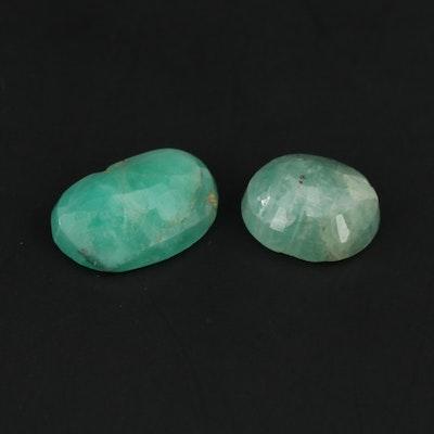 Loose 3.08 CTW Emerald Gemstones