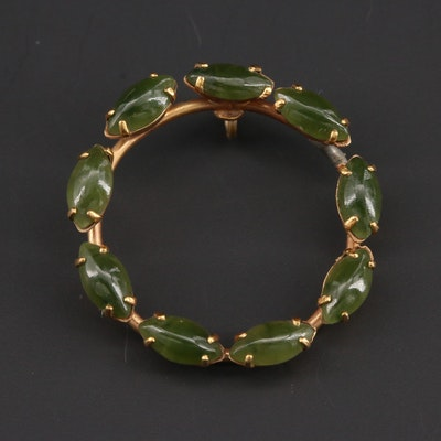 Vintage Nephrite Pendant