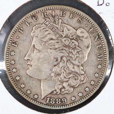 1889-O Silver Morgan Dollar