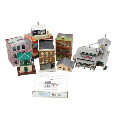 Model Train Buildings and Accessories, Contemporary