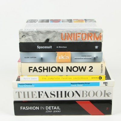 "Fashion and Design Reference Books Including ""Fashion in Detail: 1700–2000"""